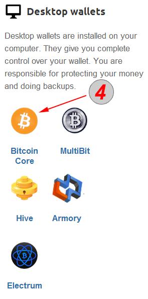 כיצד לפתוח ולהשתמש בארנק ביטקוין המותקן על המחשב 4