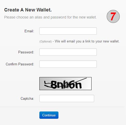 איך לפתוח ולהשתמש בארנק דיגיטלי אונליין 7